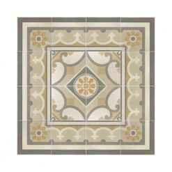 Capital Encaustic Effect Floor Tiles