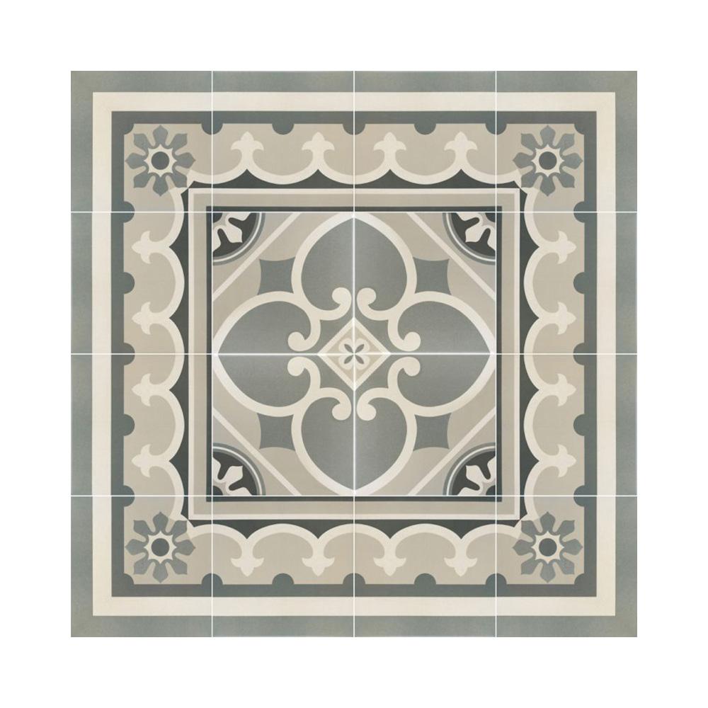 Paris Encaustic Effect Porcelain Tiles