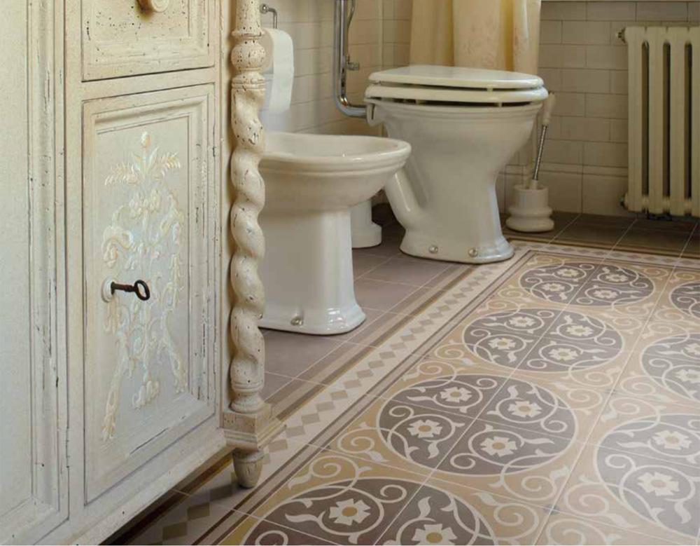 Capital Encaustic Effect Floor Tiles Firetile Ltd