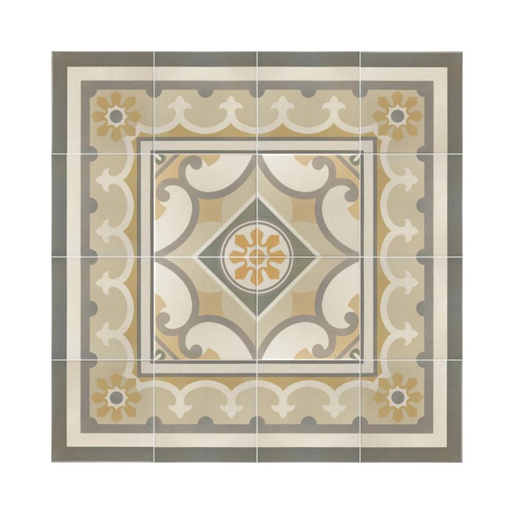 Valletta Encaustic Effect Porcelain Tiles